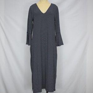 Long Tall Sally | Nave Striped Dress | 10